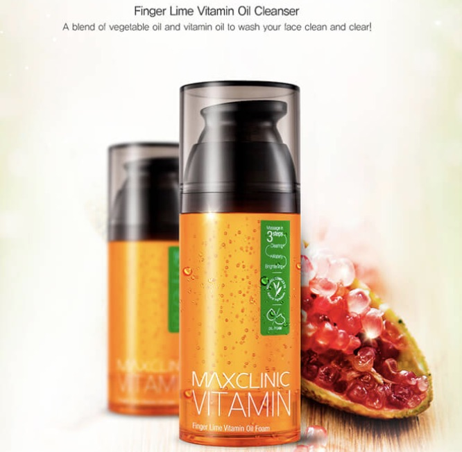 Maxclinic Lime Oil Foam