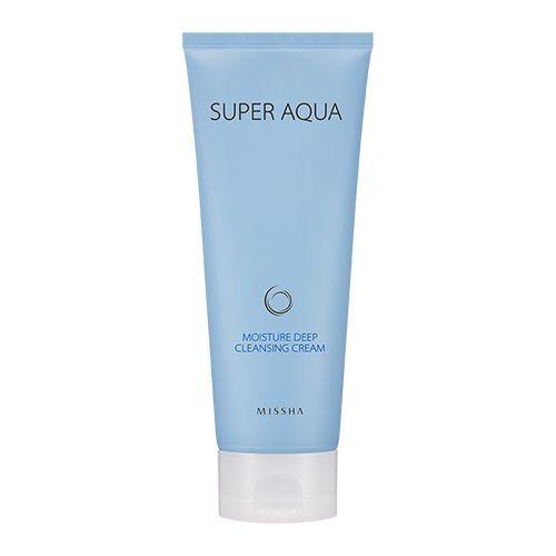 Missha Super Aqua Moisture Deep Cleansing Cream