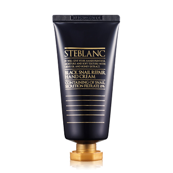 Steblanc Black Snail Repair Hand Cream
