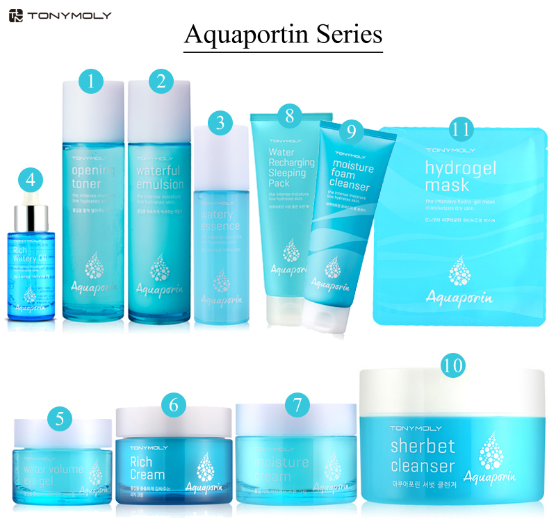 Tony Moly Aquaporin Water Recharging Sleeping Pack