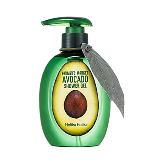 Holika Holika Farmer's Market Avocado Shower Gel